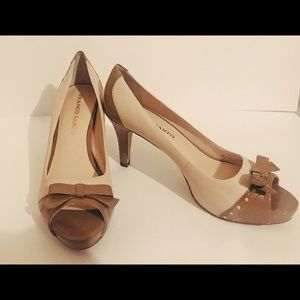 Franco Sarto Two Tone High Heels